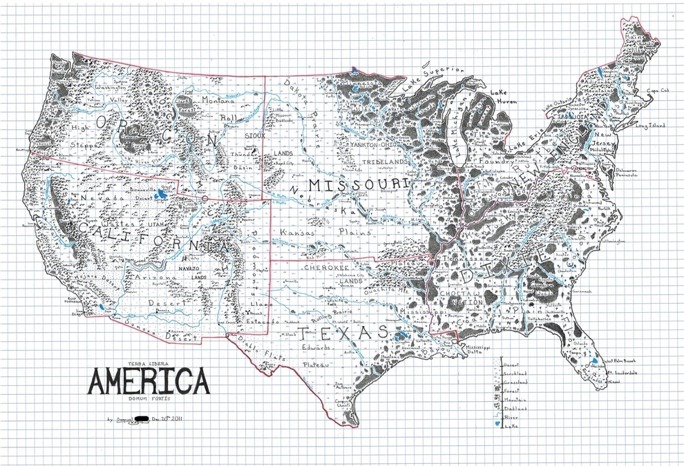 How Do You Map an Imaginary Country Sketches By Boze