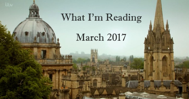 endeavour 12 - what i'm reading april
